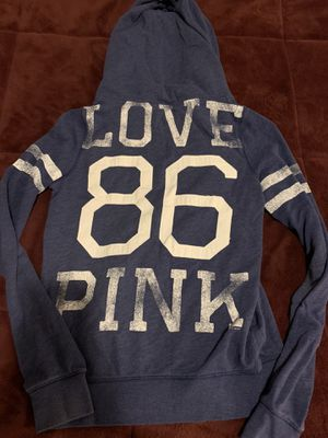 VS PINK zip up hoodie size L for Sale in Martinsburg, WV
