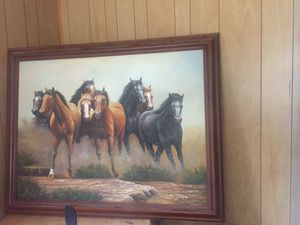 Big water paint pic for Sale in Greensboro, NC