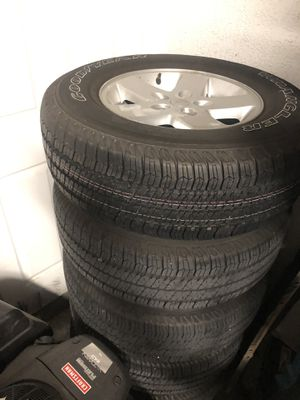 2015 Jeep wheels and tires. for Sale in Winter Haven, FL
