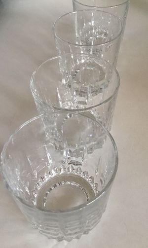 🥃 FRENCH Glassware by ARCOROC Vintage Drinking Glasses (4 rare & numbered individually) 🥃 for Sale in Beverly Hills, CA