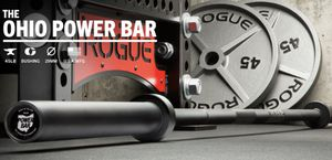 NEW ROGUE Ohio Power Bar - Black Cerakote (Boneyard) for Sale in Arlington, VA