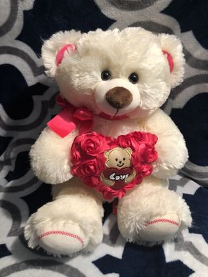 Light creme colored teddy bear for Sale in Long Beach, CA