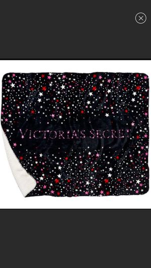 Victoria Secret Star Sherpa Blanket NEW for Sale in Warren Park, IN