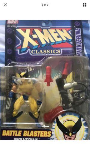 "X-men Classics Battle Blasters Wolverine Action Figure ""2000"" for Sale in Chelsea, MA"