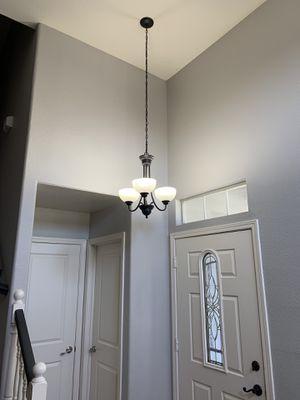 Three light chandelier for Sale in Modesto, CA