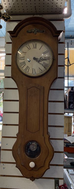 Antique Vintage Wooden Wall Clock for Sale in Montebello, CA
