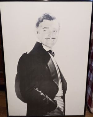 Clark Gable photo in frame for Sale in Greenville, SC