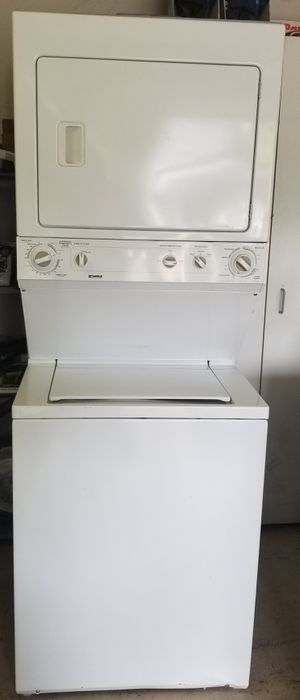 combo washer and electric dryer super capacity for Sale in Lathrop, CA