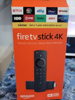 Fire tv stick 4k_/No està programado. for Sale in Los Angeles,  CA