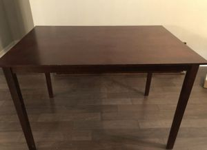 Kitchen Table wood. Dark brown. No chairs for Sale in Tampa, FL