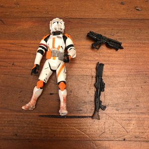 Star Wars The Saga Collection Clone Commander Cody action figure loose for Sale in Puyallup, WA