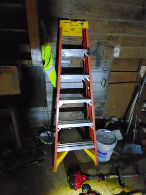 6ft a frame werner ladder for Sale in San Antonio, TX