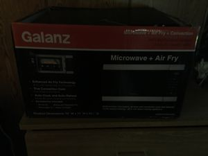 Microwave , and hot air fryer , brand new never used. for Sale in La Vergne, TN