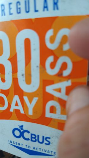 30 Day regular bus pass for Sale in Westminster, CA