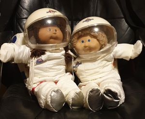 Cabbage patch astronaut boy and girl for Sale for sale  Huntington Beach, CA