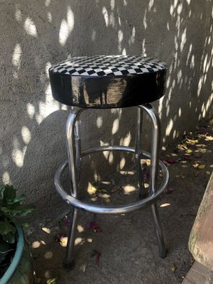 Bar Stool with checker board design for Sale in Long Beach, CA
