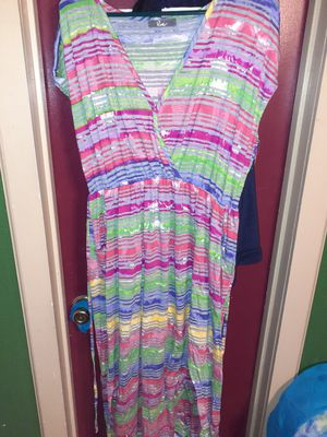 Womans long summer dress size 2x for Sale in San Antonio, TX