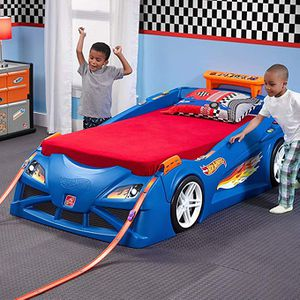 Step2 hot wheels toddler to twin bed for Sale in Newark, CA