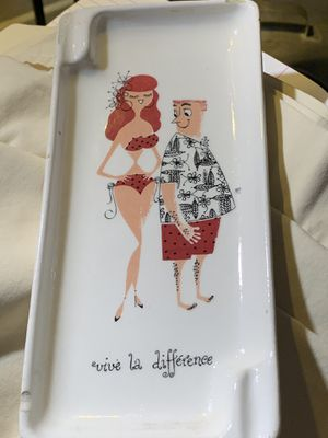 Antique china cigar/ciggs ash tray plate for Sale in Westminster, CA