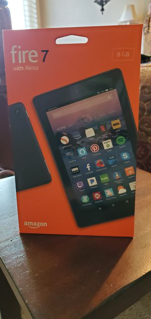 Amazon Black Fire 7 Tablet with Alexa for Sale in Buena Park, CA