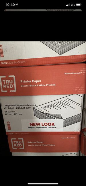 Printer paper/ papel para copiadora for Sale in Fresno, CA