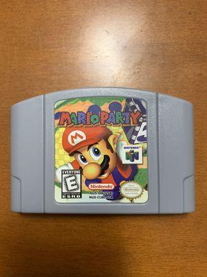 Mario Party Nintendo 64 for Sale in Hialeah, FL