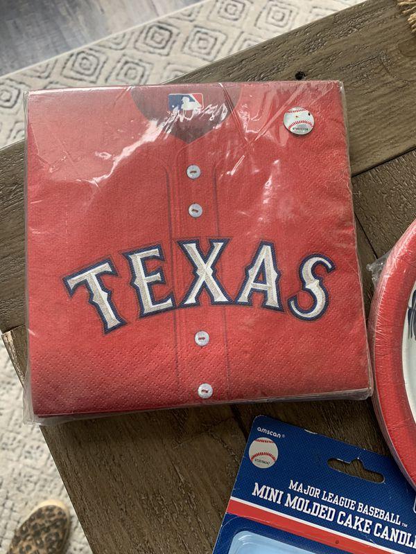 Texas Rangers Baseball party supplies ( brand new ) need gone ASAP