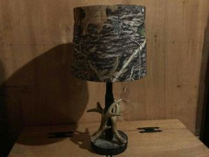 Mossy Oak Antler Lamp for Sale in Columbus, OH