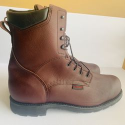 """ASTM Mens 8"""" Red Wing Shoes waterproof boots for Sale in Stratford,  CT"""