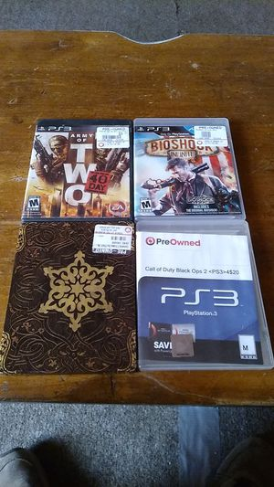 4 PS3 games for 20 bucks for Sale in Pinetop-Lakeside, AZ