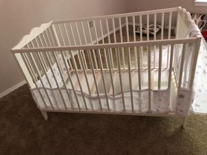Ikea Baby crib with mattress for Sale in Moon, PA