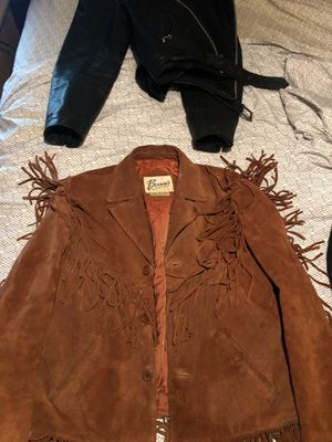 Bermans fringed jacket for Sale in Countryside, IL