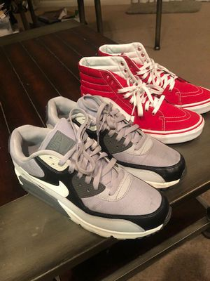 Mike air Max's and Vans for Sale in Lodi, CA