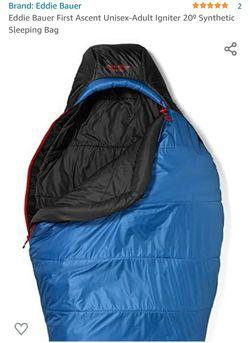 Eddie Bauer Igniter 20 degree Sleeping bag for Sale in Garrison, MD