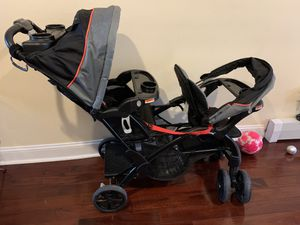 Sit to stand double stroller for Sale in Jersey City, NJ