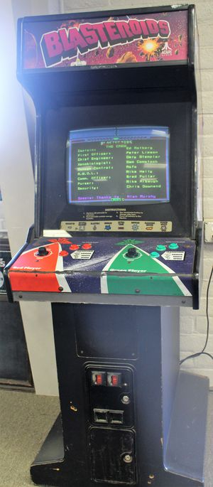 Blasteroids Video Arcade Game for Sale in Klamath Falls, OR