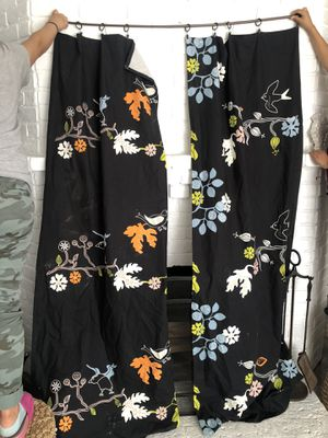 2 curtain panels $5 for Sale in Lemon Grove, CA
