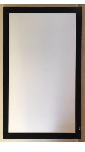 "Onyx by Draper 110"" projector screen super HD for Sale in Austin, TX"