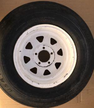 Marine trailer spare tire for Sale in Oak Hills, CA
