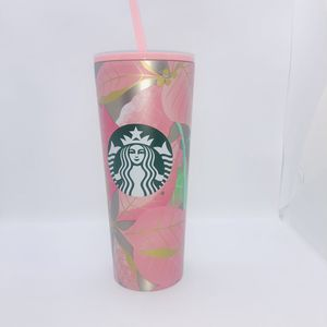 Starbucks Pink Poinsettia Tumbler Holiday 2020 Metal New for Sale in La Palma, CA