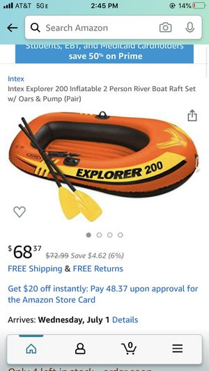Brand new inflatable boat for Sale in Hoboken, NJ