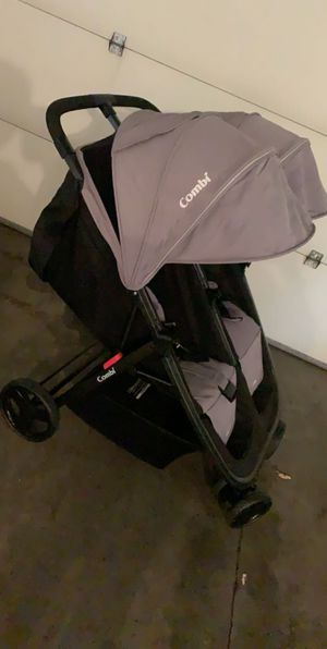 "(Trade) or (Sale) ""Almost New"" Combi Double Stroller for Sale in Burnsville, MN"