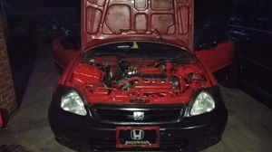 99 civic ex 2 dr. coupe automatic for Sale in Cordele, GA