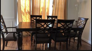 Dining table with 6 chairs for Sale in Herndon, VA