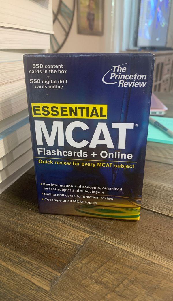 Princeton Review MCAT Books + Flashcards