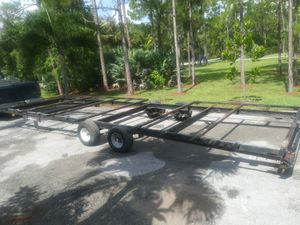 Flat trailer. 30ft for Sale in West Palm Beach, FL
