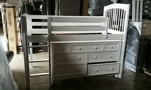 TWIN BUNKBED with DRESSER for Sale in Denver, CO