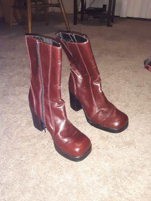Stylish Zip-Up Boots for Sale in Auburn, WA
