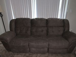 Couch + love seat recliner for $750 for Sale in Gaithersburg, MD