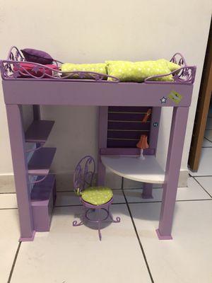 AMERICAN GIRL DOLL LOFT BED for Sale in Doral, FL